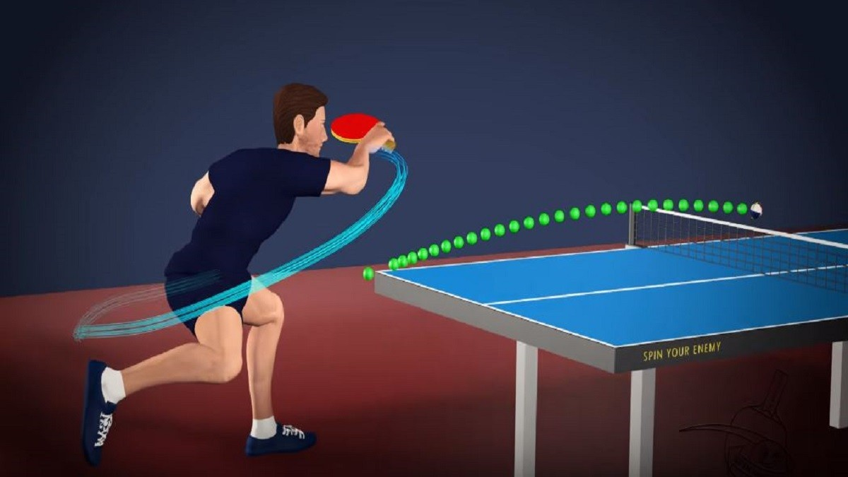 how to play table tennis well